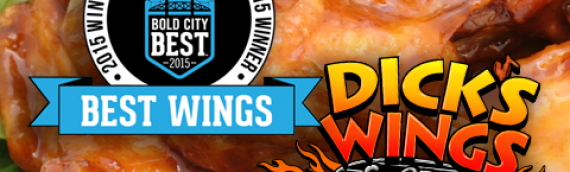 Dick's Wings Named Bold City's Best