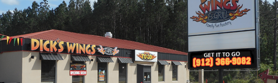 ARC Group announces the opening of its newest Dick's Wings Restaurant in Baxley